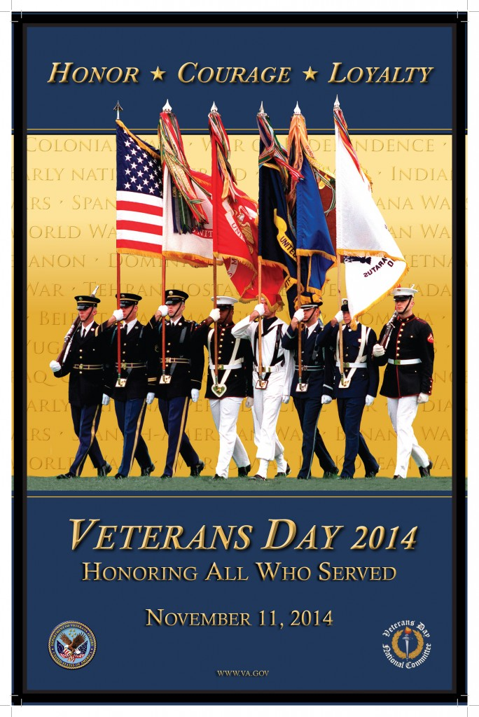 Veterans Day 2014 Poster